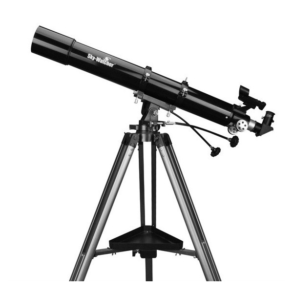 how to set up telescope sky watcher bk 707 az2