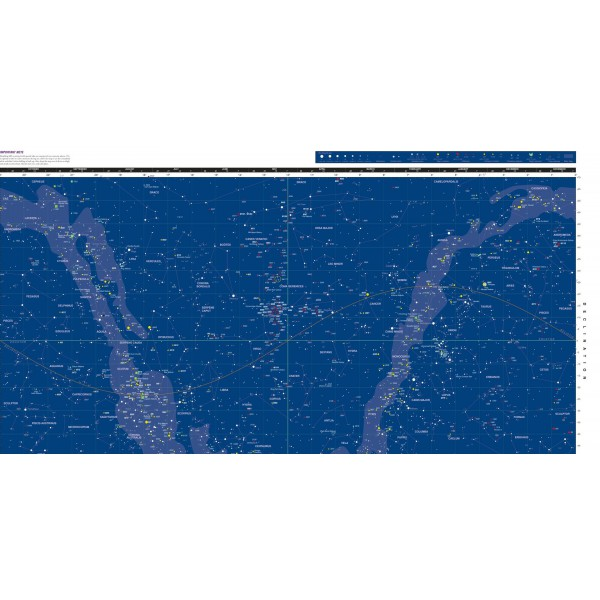 Orion DeepMap 600 Folding Star Chart