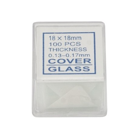 Cover Slips (100 Pieces) Microscope Accessory-44418