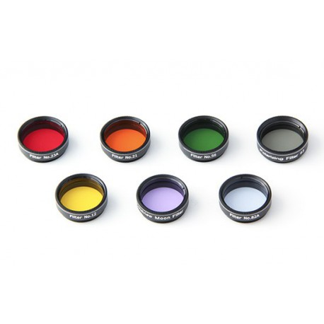 Skywatcher Color Filter set - 7 Pieces