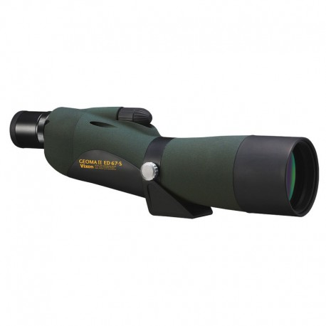 Vixen Geoma II ED67S Spotting Scope with Case- 18092