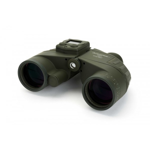 Celestron Cavalry 7x50 Binocular WithGps, Digital Compass & Reticle-71422