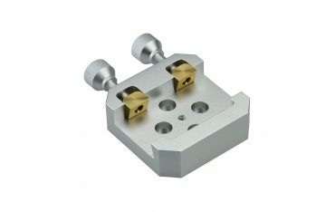 Solomark Dovetail Clamp with 2 Brass Screw with Pressure Shoe for Mounting Vixen/celestron